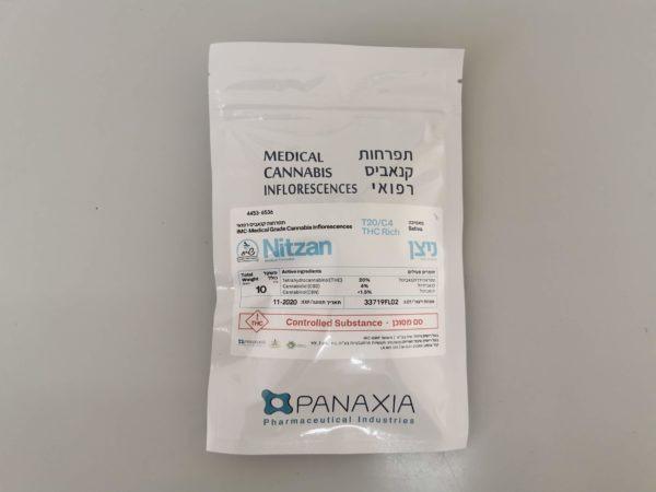תפרחות קנאביס - ניצן T20/C4 (סאטיבה)
