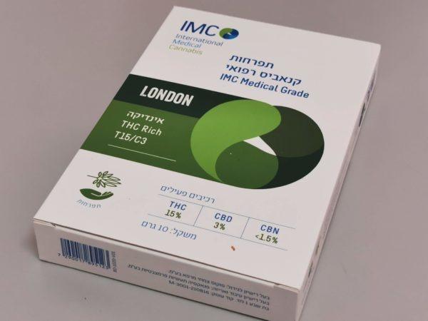 תפרחות קנאביס - זן לונדון - IMC