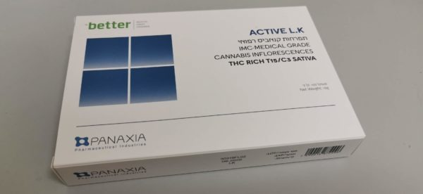 תפרחות קנאביס רפואי - T15/C3 - Active LK